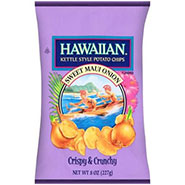 Hawaiian Kettle Style Chips Sweet Onion